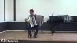 Эдуард Саумов аккордеон Д Скарлатти Соната Си бемоль мажор