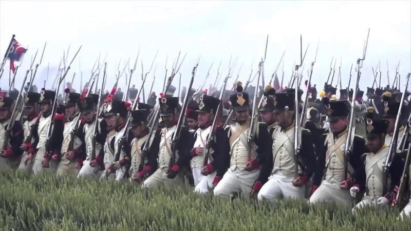 Битва при Ватерлоо. Реконструкция 2015