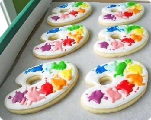 Печенье для творческих людей.