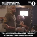 @example on Instagram Last week on @bbcradio1 we had 12 year old Iona call in and suggest a riff for a big summer banger. She sang it down the ph...