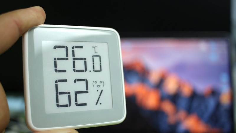ОБЗОР Xiaomi MiaoMiaoCe E-Link INK ► метеостанция Сяоми