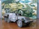 Стендовый моделизм Покраска модели БТР 152Е аэрографом и кистью Painting Model BTR 152E airbrush
