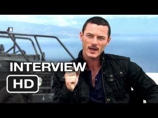 Fast & Furious 6 Interview - Luke Evans (2013) - Dwayne Johnson Movie HD