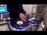 Dj Netik - Scratch Drumming through Modular Synths LeJad beats Studio