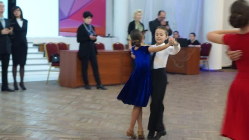 Вальс Саша и Алина