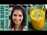 Mango &amp Saffron Lassi Recipe Maunika Gowardhan