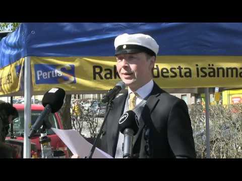 Jussi Halla-aho vapunpäivän puhe LIVE