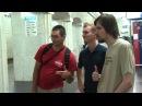 Фо и Дёрти едут в метро на Фрик Пати 3.