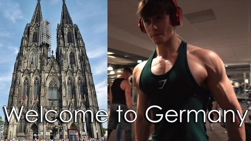 Добро пожаловать в Германию FIBO 2017 Дэвид Лейд