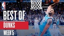 NBA's Best Dunks Week 5