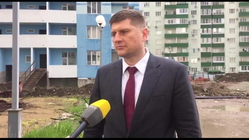 Андрей Алексеенко инспектирует ЖК Форт Карасун