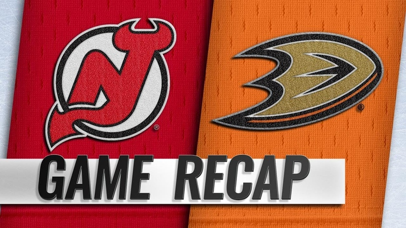 Ducks rally in 3rd, top Devils in SO