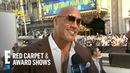 Dwayne Johnson Talks Working With Ex-Wife on Hobbs Shaw | E! Red Carpet Award Shows