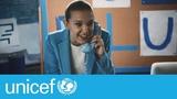 Millie Bobby Brown Go Blue on World Childrens Day UNICEF