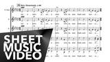 Mahler - Symphony No.2 'Auferstehung' Resurrection Finale - Vocal Score 'Sheet Music Video'