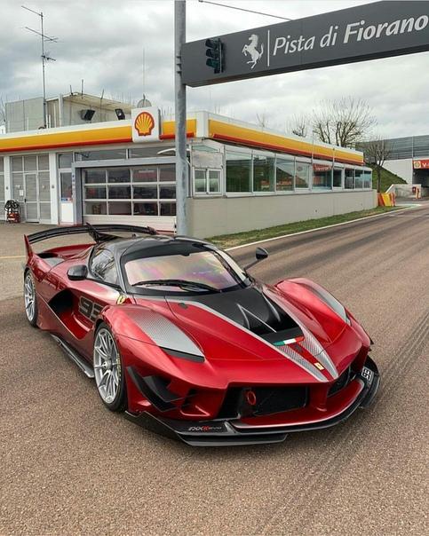 Очень редкие : Ferrari FXX- Evo