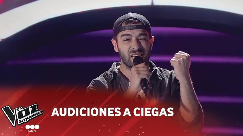M. Amante - They dont care about us - Michael Jackson - Audición a ciegas - La Voz Argentina 2018