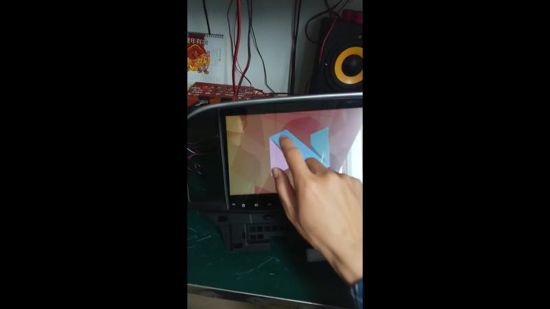 штатная магнитола с процессоромT3 на настоящем ANDROID 7.1 Nougat