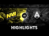Highlights from NaVi vs Alliance @ HyperX D2L Western Challenge