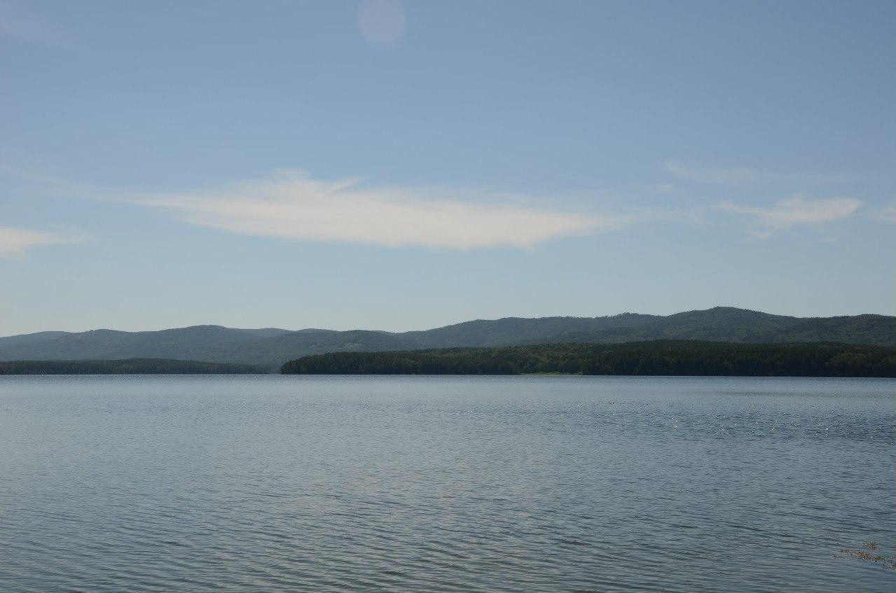 Озеро Большое Миассово (06.11.2014)