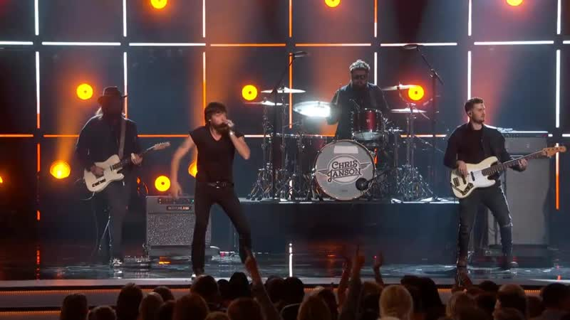 Chris Janson on the 53rd Annual Academy of Country Music Awards 2018