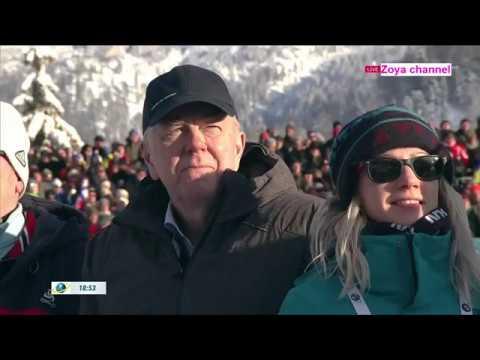 Biathlon 2018 Mens Pursuit Hochfilzen
