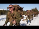Winter Warfare Marines on Skis