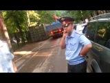 Беспредел полиции ОВД Замоскворечье, боятся показывать удостоверение и выхватывают камеру ч.1.