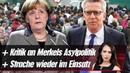 Kritik an Merkel Strache wieder im Einsatz