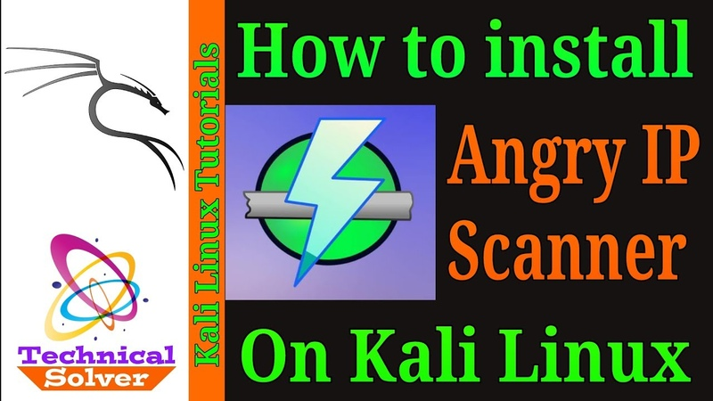 How to install Angry IP Scanner on Kali Linux