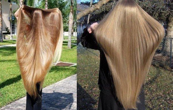 Как за неделю сделать длинные волосы