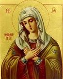 Икона Божией Матери ''Умиление.