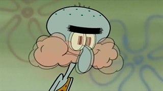 Spongebob, Patrick, and Squidward Eat