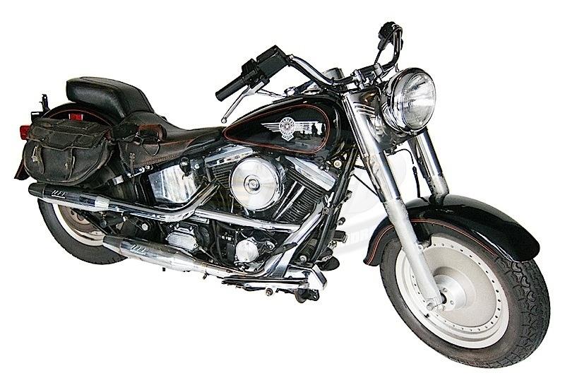 Мотоцикл Harley-Davidson Fat Boy из фильма Терминатор 2 продали за почти 500 000 долларов