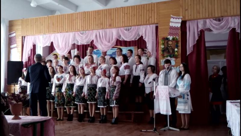 Огляд 2016!Вчительсько-учнівський хор!