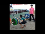 back squat 185 in 45kg