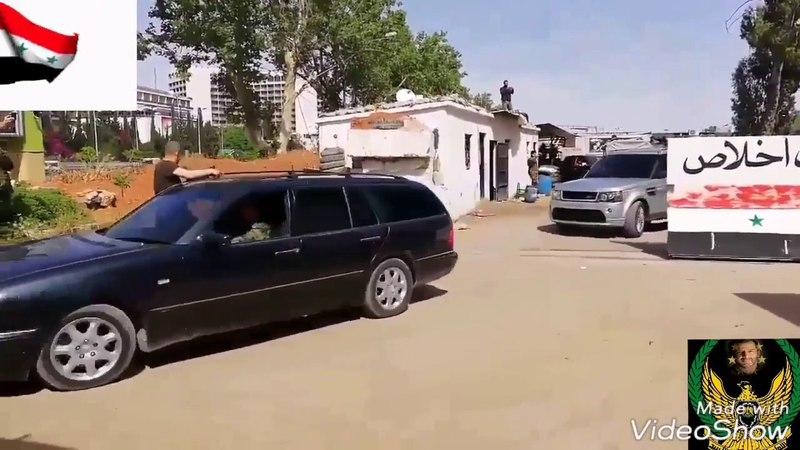 Сирийская проправительственная бригада внутренних войск, связанная с 4-м механизированным подразделением, возглавляющим фронт Аль-Хаджар аль-Асвад