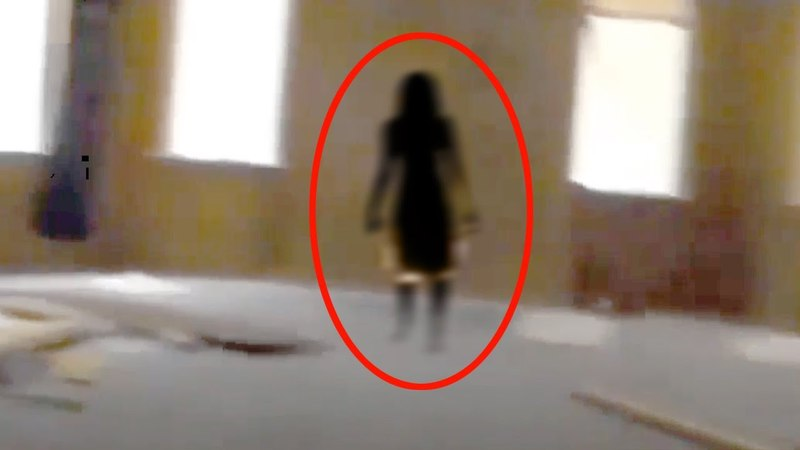 Black Shadow - Real Ghost Scary Footage!!