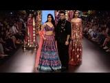Jhanvi Kapoor Walks For Nachiket Barve FallWinter 201819 Lakme Fashion Week