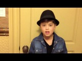 Bruno Mars- Just The Way You Are- Acapella Cover By 9 year old Nathan C.