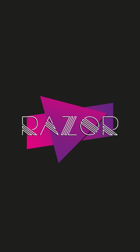 Download razor-sample font (typeface)