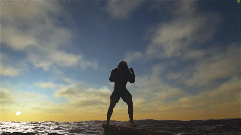 Atlas, ходка в море