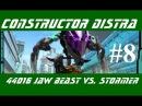 Constructor Distra #8 - Lego Hero Factory (Invasion from Below) - Кусачий монстр против Стормера