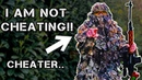 Invisible Ghillie Sniper vs Airsoft Cheater (BUSTED)
