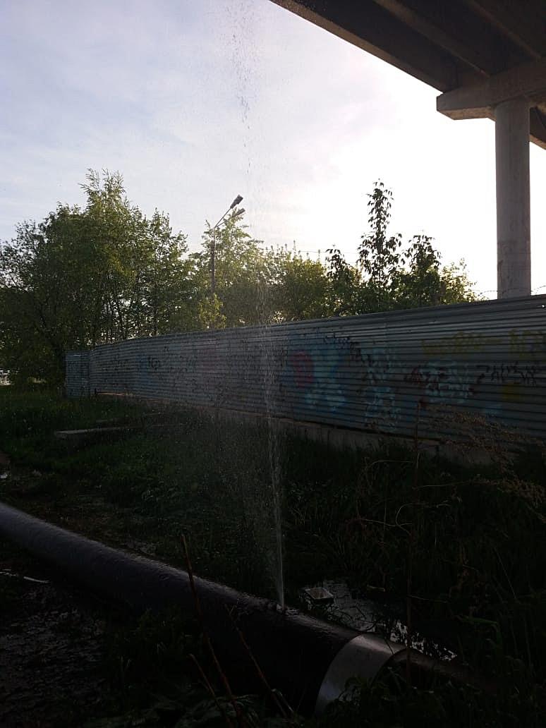Пока Кимры лихорадит от отсутствия горячей воды, в городе открываются новые фонтаны