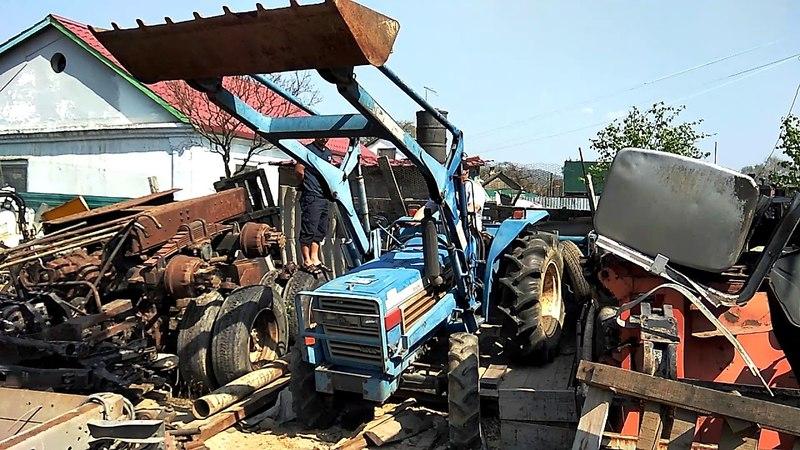Японский трактор Iseki TL4000F » Freewka.com - Смотреть онлайн в хорощем качестве