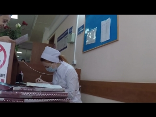 Еще одно видео Интригана, наводит суету в больнице [Нетипичная Махачкала]