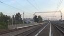 Электровоз ЭП20-035 с пассажирским поездом №108 Брянск - Москва