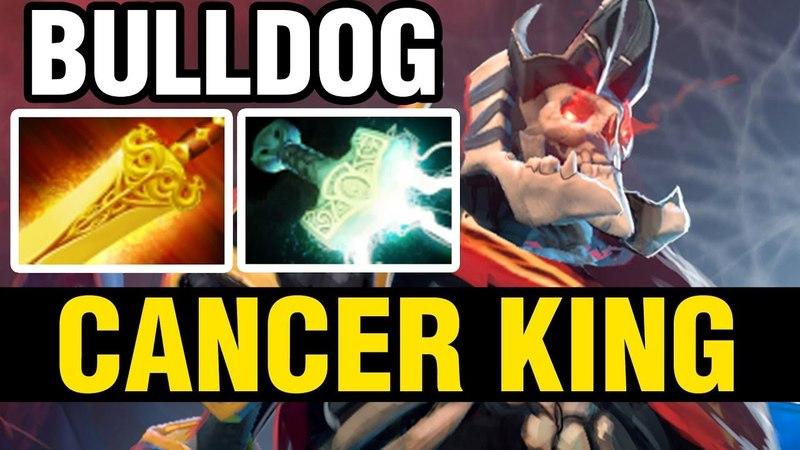 CANCER KING - AdmiralBulldog Plays Wraith King - Dota 2