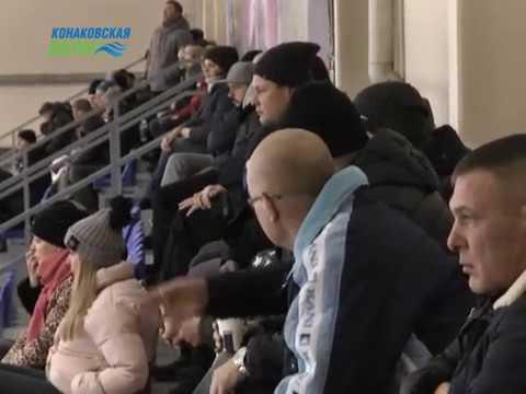 В Конаково продолжаются игры Чемпионата Тверской области по хоккею